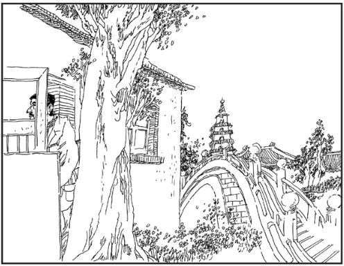 简笔画 手绘 素描 线稿 496_384